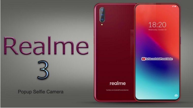 Redmi Note 7 ला टक्कर देणारा Realme 3 भारतात आज लॉन्च होणार