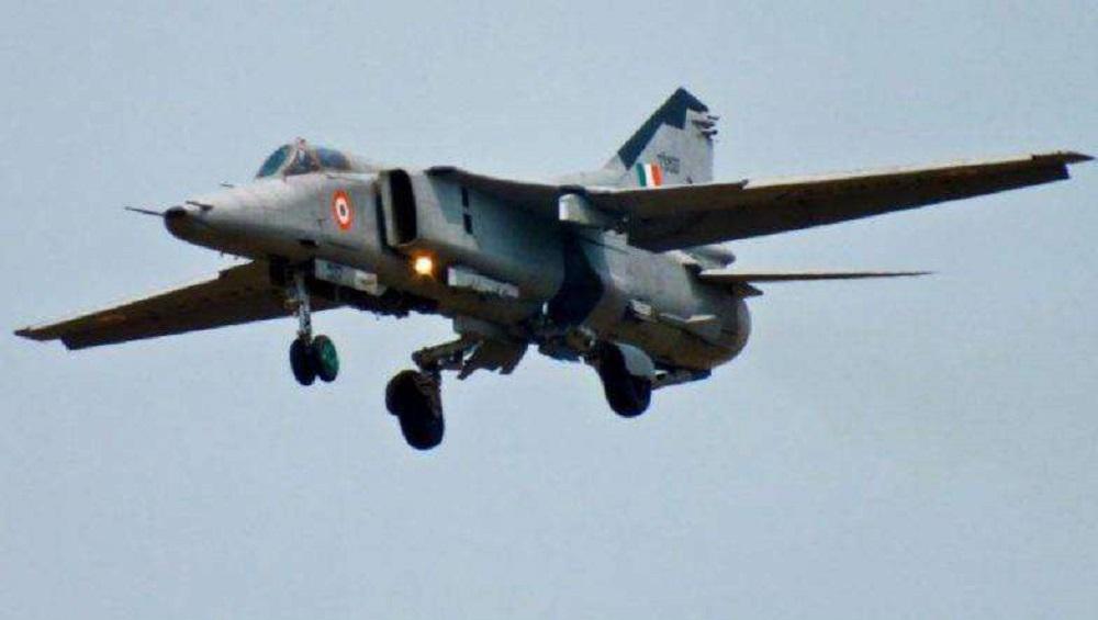 राजस्थान: वायुसेनेचे MiG-21 हे लढाऊ विमान बिकानेर येथे कोसळले; पायलटला सुखरुप बाहेर पडण्यात यश