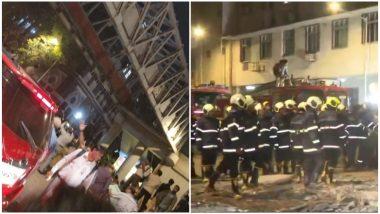 मुंबई सीएसएमटी रेल्वे स्टेशन जवळ पादचारी पूल कोसळला;  5 ठार, 30 जण जखमी