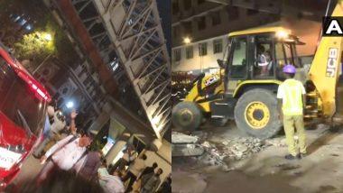 Mumbai CSMT FOB Collapse: मध्य रेल्वे, BMC अधिकार्यांवर सदोष मनुष्यवधाचा गुन्हा दाखल