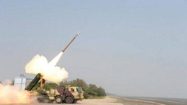 पोखरण: भारतीय लष्कराची ताकद वाढली, 'Pinaka' रॉकेटचे DRDO कडून चाचणी यशस्वी