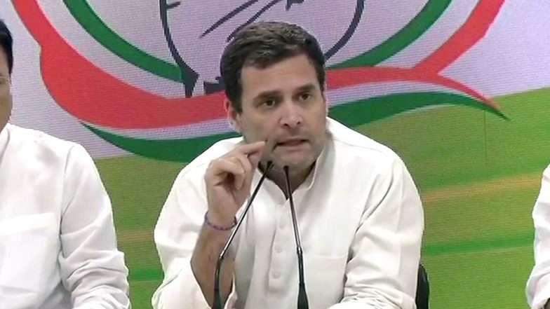 काँग्रेसच्या Minimum Income Guarantee Scheme अंतर्गत दरवर्षी गरीब कुटुंबाना मिळणार 72 हजार रुपये; राहुल गांधी यांची घोषणा