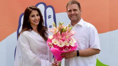 Lok Sabha Elections 2019: 'रंगिला गर्ल' उर्मिला मातोंडकर यांचा काँग्रेसमध्ये प्रवेश
