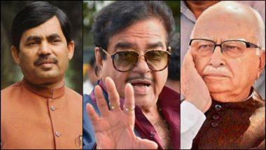 Loksabha Elections 2019: भाजप श्रेष्टींनी दिग्गजांचे तिकीट कापले, चर्चित चेहऱ्यांचे मतदारसंघ बदलले; एलके आडवाणी, शत्रुघ्न सिन्हा, शहानवाज हुसेन यांना धक्का