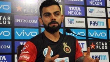 RCB vs MI, IPL 2019: सामन्यातील शेवटच्या बॉलवरुन वाद; RCB कर्णधार विराट कोहली भडकला (Viral Video)