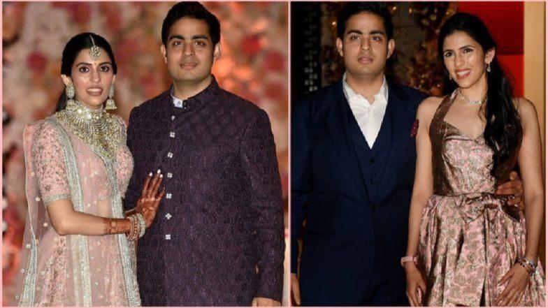 Akash Ambani-Shloka Mehta Wedding: आकाश-श्लोका यांच्या शाही विवाहसोहळ्यासाठी सजले अंबानी हाऊस Antilia (Videos)