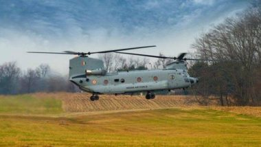 वायुदलाची क्षमता वाढवणारी चिनुक हेलिकॉप्टर्स आजपासून वायुसेनेत दाखल