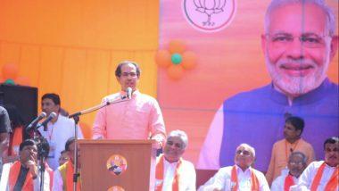 Lok Sabha Elections 2019: पाठीत खंजीर खुपसणं हे आमचे संस्कार नाही, अमित शहा यांना पाठिंबा देण्यासाठी आलोय: उद्धव ठाकरे