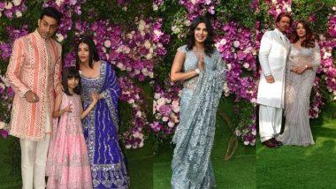 Akash Ambani Shloka Mehta Wedding: शाहरुख खान, प्रियंका चोप्रा, बच्चन कुटुंबीय अवघं बॉलिवूड पोहचलं आकाश-श्लोका यांच्या लग्नाला!