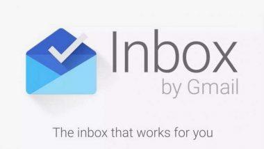 Google चं मेलिंग अॅप Inbox  2 एप्रिलपासून होणार बंद