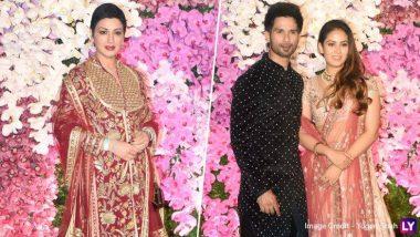 Akash Ambani-Shloka Mehta Wedding Reception: आकाश अंबानी ह्याच्या ग्रँड वेडिंग रिसेप्शनसाठी बॉलिवूड मधील दिग्गज कलाकारांनी लावली उपस्थिती (Photos)