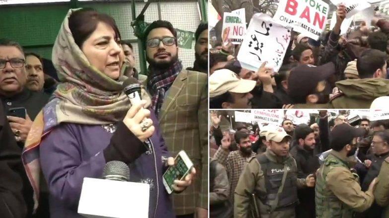 जम्मू-काश्मिर: जमात-ए-इस्लामी संबंधित संपत्ती सील, सरकारच्या कारवाईला मेहबूबा मुफ्ती यांच्याकडून विरोध