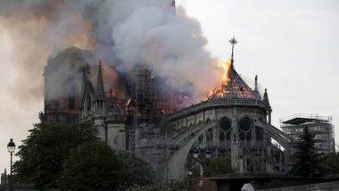 पॅरिस येथे आगीच्या भक्ष्यस्थानी पडलेले 850 वर्षे जुने चर्च 5 वर्षांमध्ये पुन्हा उभे राहणार; अध्यक्ष इमॅन्युएल मॅक्रॉन यांचा निर्धार