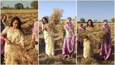Video: शेतात गवत कापण्याची अॅक्टींग करताना मजा आली: हेमा मालिनी