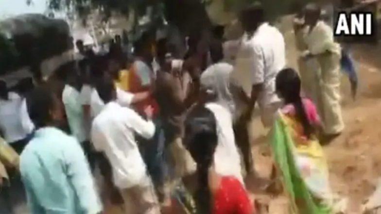 आंध्र प्रदेश: तेलुगू देसम पार्टी, वायएसआर काँग्रेस पक्ष कार्यकर्त्यांमध्ये राडा; दोघांचा मृत्यू