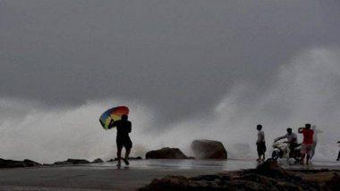 Cyclone Nisarga: नवी मुंबई येथे वादळी वाऱ्यासोबत जोरदार पाऊस; सीबीडी बेलापूर विभागातल्या दुर्गामाता संभाजीनगरमधील स्थानिक नागरिकांचे शाळामध्ये स्थलांतर