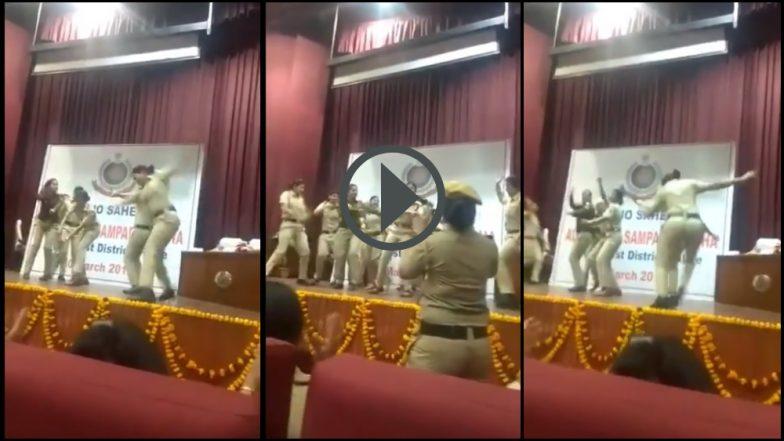 Video: सपना चौधरी हिच्या गाण्यावर IPS अधिकारी डान्स करु लागताच महिला पोलिसही थिरकले