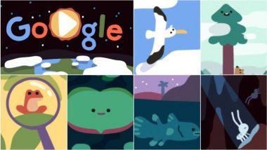Happy Earth Day 2019: पृथ्वी दिनानिमित्त अनिमेडेट डुडल साकारात गुगलचं अनोखं सेलिब्रेशन!
