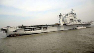 कर्नाटक: INS विक्रमादित्य युद्धनौकेला आग; एका नौदल अधिकाऱ्याचा मृत्यू