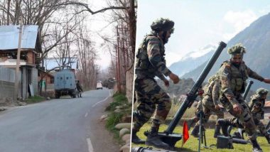 जम्मू-कश्मीर येथील चकमकीत 'लष्कर-ए-तोयबा'च्या 4 दहशतवाद्यांचा खात्मा