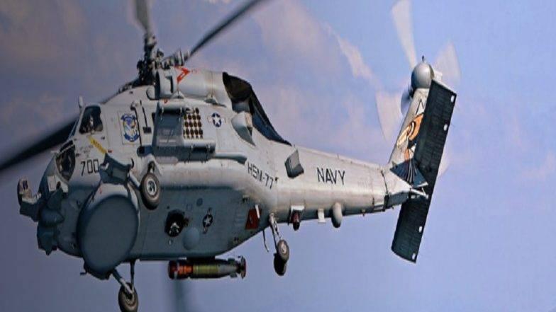 आता समुद्रात वाढणार भारताची ताकद, ताफ्यात सामील होणार 24 MH60 रोमिओ सी हॉक हेलिकॉप्टर