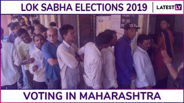 Lok Sabha Elections 2019 Phase-3 Voting Maharashtra Live News Updates: तिसऱ्या टप्प्यात संपूर्ण देशात 63.24%, तर महाराष्ट्रात 56.57% मतदानाची नोंद