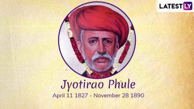 Jyotirao Phule Death Anniversary: महाराष्ट्रातील ज्येष्ठ समाजसुधारक जोतिबा फुले यांच्या पुण्यतिथी निमित्त शरद पवार, देवेंद्र फडणवीस, सुप्रिया सुळें सह या दिग्गज नेत्यांनी वाहिली आदरांजली