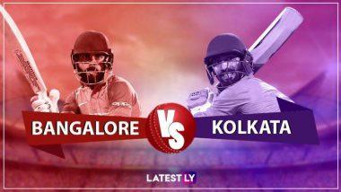 RCB vs KKR, IPL 2019 Live Cricket Streaming:  टॉस जिंकत 'कोलकत्ता नाईट रायडर्स'चा गोलंदाजीचा निर्णय, हॉटस्टार वर पहा लाईव्ह सामना