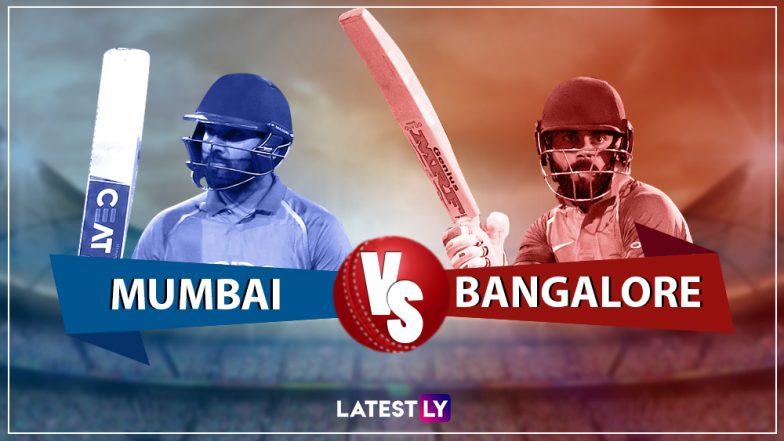 MI vs RCB, IPL 2019 Live Cricket Streaming: वानखेडे स्टेडियमवर रंगणार आज मुंबई विरूद्ध बेंगलोर सामना; Hotstar वर पहा लाईव्ह स्ट्रिमिंग