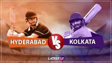 SRH vs KKR, IPL 2019 Live Cricket Streaming:  हैदराबाद सनरायजर्स विरूद्ध कोलकाता नाईट रायडर्स सामन्याचा थरार  Star Sports आणि Hotstar Online वर पहा लाईव्ह