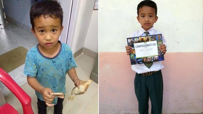 Mizoram: लहानग्याने वाचवले कोंबडीच्या पिल्लाचे प्राण, पेटा इंडिया तर्फे भारतातील दयाळू बालकाचा मिळाला सन्मान