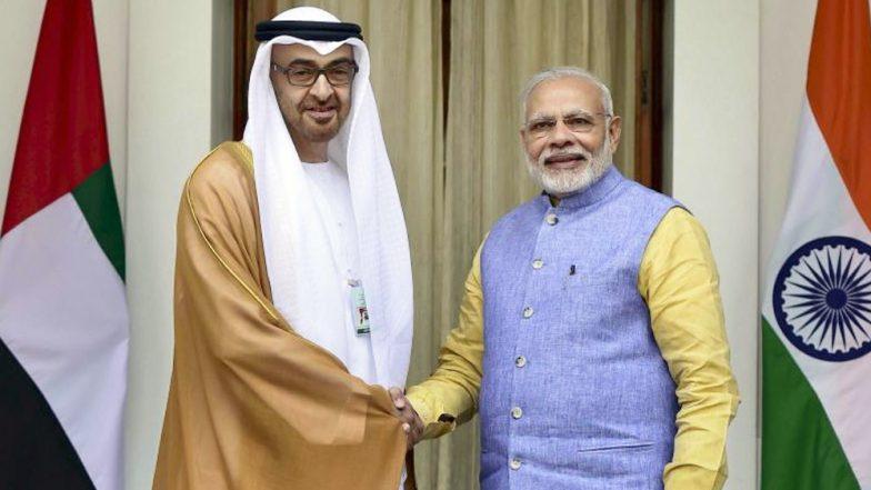 UAE कडून पंतप्रधान नरेंद्र मोदी यांचा 'झाएद पदका'ने होणार गौरव