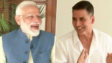अक्षय कुमार याने घेतली पंतप्रधान नरेंद्र मोदी यांची खास मुलाखत; पहा Videos