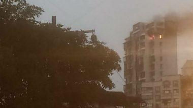 Navi Mumbai Fire: नवी मुंबईतील ऐरोली येथील रहिवासी इमारतीला आग