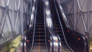 मुंबई: चर्चगेट स्थानकातील भुयारी मार्गात Escalators लवकरच सुरु होण्याची शक्यता