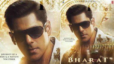 Bharat Poster: 'सलमान खान'ने शेअर केला 'भारत' सिनेमातील त्याचा 'यंग लूक'; सोबत दिशा पटानीची झलक