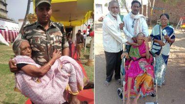 Lok Sabha Elections 2019:  लोकसभा निवडणुकीचा दुसरा टप्पा पार, महाराष्ट्रात 105 वर्षीय काविबाईंनी बजावला मतदानाचा अधिकार (See Photo)