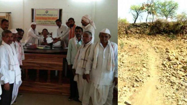 70 वर्षांपासून गावात रस्ता नाही, एसटीची सोय नाही; चिडलेल्या गावकऱ्यांचा मतदानावर बहिष्कार