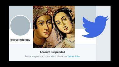 इतिहासाबाबत सत्य मांडणारे Trueindology खाते ट्विटर ने केले बंद; केंद्रातील निलंबित अधिकाऱ्याच्या सांगण्यावरून घडला हा प्रताप?