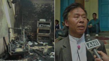 मणिपूर: विद्यार्थ्यांनी शिक्षा दिल्याच्या रागातून शाळा पेटवली