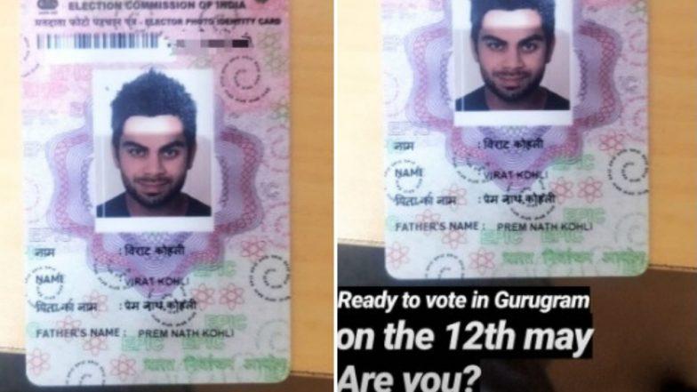 विराट कोहली 12 मे रोजी गुरुग्राम येथून मतदान करणार