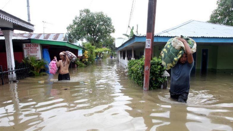 इंडोनेशिया येथे पावसाच्या पुरात 29 जणांचा मृत्यू, अनेकजण बेपत्ता