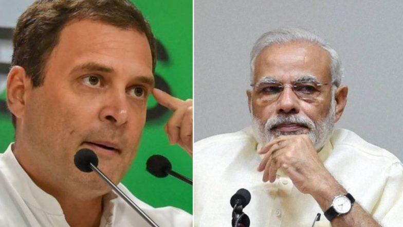 Loksabha Election 2019: निवडणूक आयोगाचा भाजपा साठी मवाळ पवित्रा: राहुल गांधी