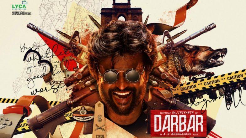 Darbar First Look: सुपरस्टार रजनीकांत ह्याच्या 'दरबार' चित्रपटाच्या पोस्टरचा फर्स्ट लूक प्रदर्शित