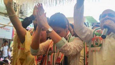 """महाराष्ट्र लोकसभा निवडणूक निकाल 2019: """"गोपाळ शेट्टी यांचा विजय झाला म्हणून रडीचा डाव खेळणार नाही""""-उर्मिला मातोंडकर"""