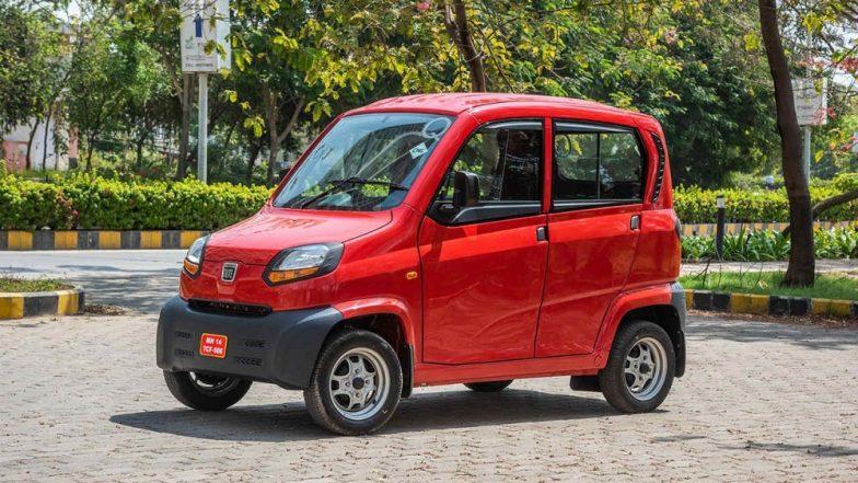 Bajaj ने महाराष्ट्रात लाँच केली नॅनोपेक्षाही छोटी आणि स्वस्त कार; जाणून घ्या किंमत व इतर फीचर्स