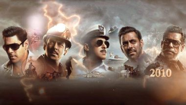 Bharat Motion Poster: भारत सिनेमाचं मोशन पोस्टर आऊट! 'सलमान खान' ने शेअर केला एका दशकातील 5 हट्के लुक्स मधील प्रवास (Watch Video)