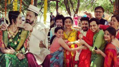 Sakhi-Suvrat Wedding: सखी गोखले आणि सुव्रत जोशी अडकले विवाहबंधनात; पहा लग्नसोहळ्याचे फोटो