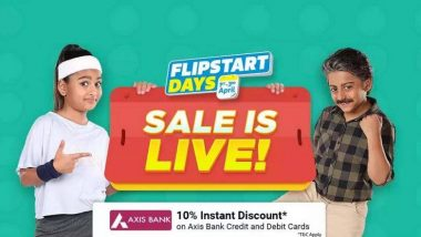 Flipkart's Flipstart Days Sale: अक्षय तृतीयेच्या निमित्ताने Flipkartच्या ग्राहकांना धमाकेदार ऑफर्स, या उत्पादनांवर मिळणार भारी सूट