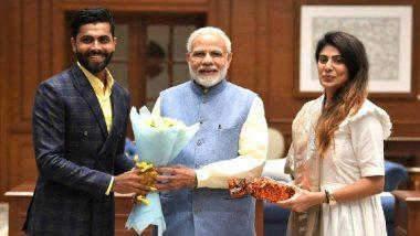 वडील-बहिण काँग्रेसमध्ये असूनही मोदींच्या समर्थनार्थ क्रिकेटर 'रवींद्र जडेजा'ने केले खास ट्वीट; पंतप्रधान नरेंद्र मोदी यांनी दिले उत्तर
